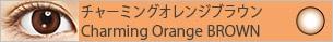 チャーミングオレンジブラウン