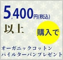 5,400円以上購入で日本製靴下プレゼント