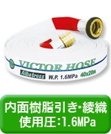 内面樹脂引き・綾織・使用圧:1.6MPa