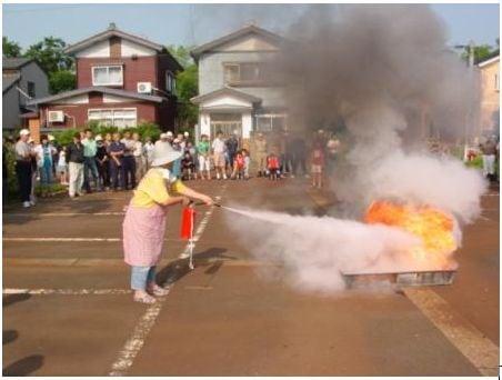 粉末消火剤 消火器 どんな火災にも対応