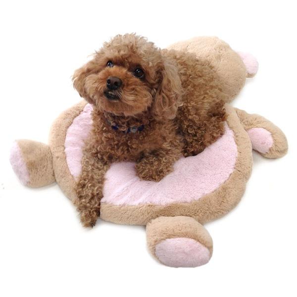 小型犬にぴったりのミニサイズ、ふわふわのマット。