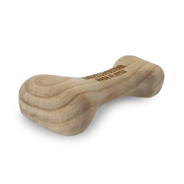 木製の犬のおもちゃ。獣医師監修の商品です。