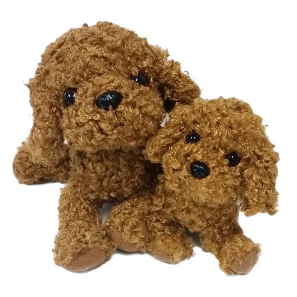 ベストエバーの技術と表現力を存分に発揮したプレミアムパピー。新犬種トイプードル(レッド)が満を持して登場!!最高の手触り。いろいろなポーズが作れます。