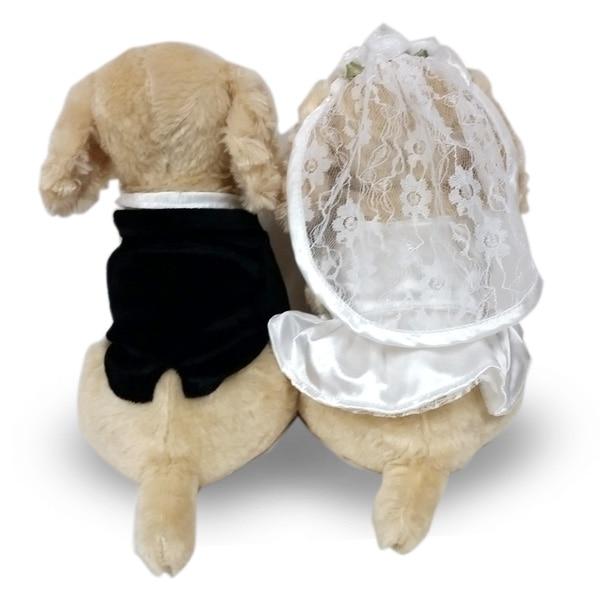 大好評のプレミアムパピーシリーズからコッカースパニエルのWEDDING DOLLが登場。結婚祝いのプレゼントに、ウェルカムドールに最適です。