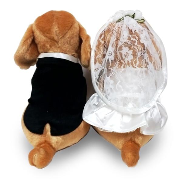 大好評のプレミアムパピーシリーズからダックスのWEDDING DOLLが登場。結婚祝いのプレゼントに、ウェルカムドールに最適です。