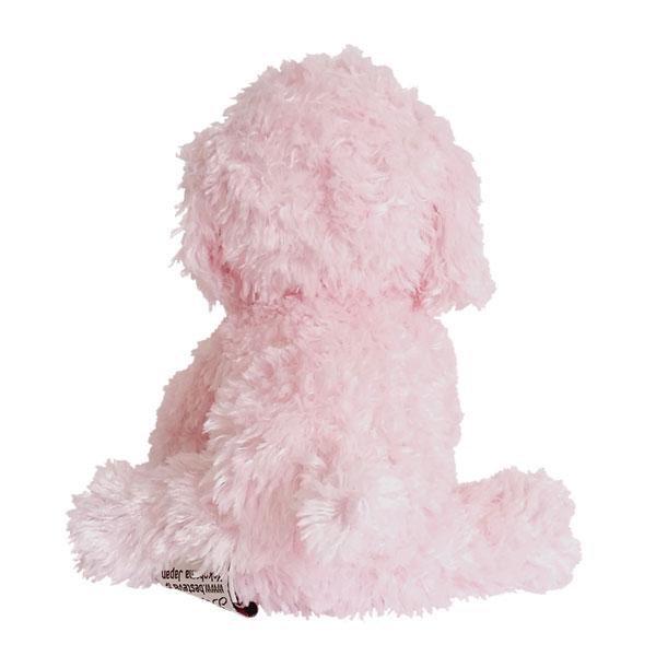 ベストエバーの技術と表現力を存分に発揮したプレミアムパピートイプードルに新色ピンクが登場!!最高の手触り。いろいろなポーズが作れます。【宅配便のみ可】