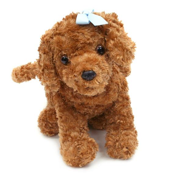 トイプーがモチーフ、犬のぬいぐるみ型バッグ