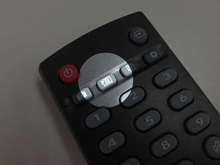 編集ボタンのアップ