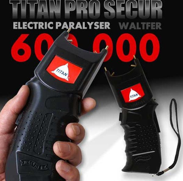 ★【出力テスト計測不能】660,000Vスタンガン「TITAN-GB5」★