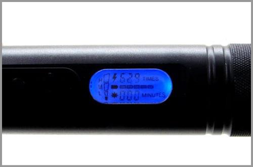 ZAPエンフォーサーライト・スタンガン「ZAP-EN」インジケータ付き 200万ボルト充電式