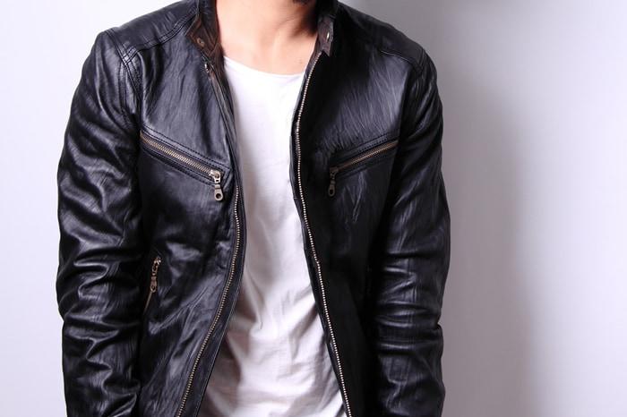 シンプルな黒だけじゃない。自分好みのレザージャケットを選んでおしゃれ度アップ!