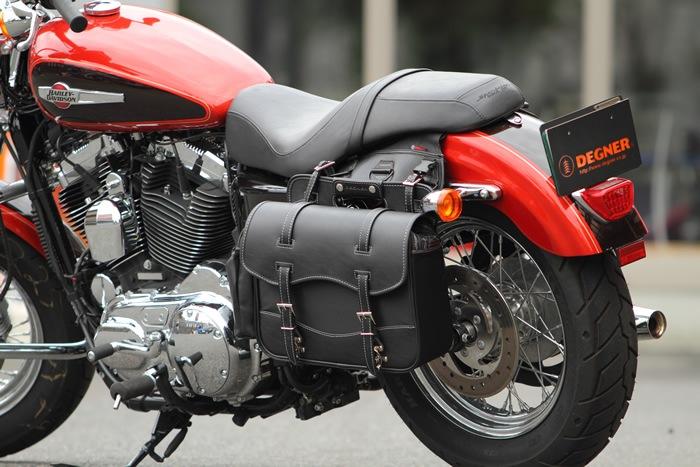 収納スペースが少ないバイクに重宝!サイドバッグの選び方!