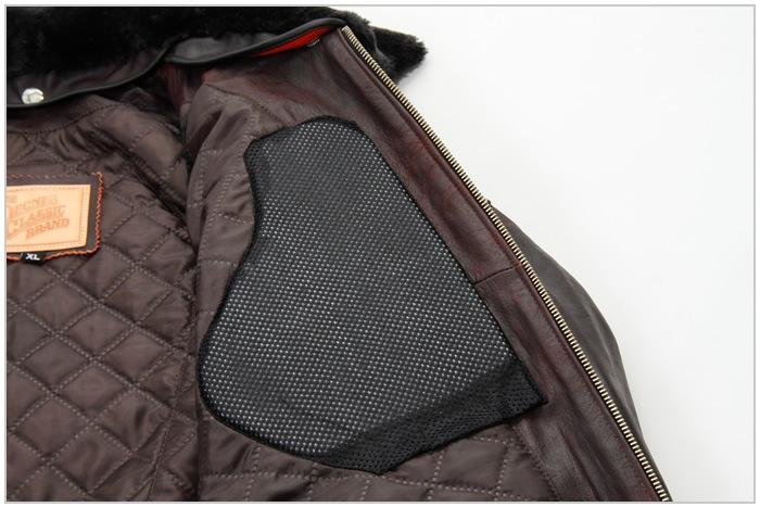 レザー 本革 牛革 ボア フライト ヴィンテージ オールドブラウン バイカ— ジャケット 秋 冬 男 16WJ-10 デグナー