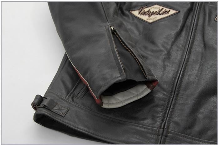 レザー 本革 牛革 キルティング ライダース ブラック バイカ— ジャケット 秋 冬 男 16WJ-17 デグナー DEGNER バイク