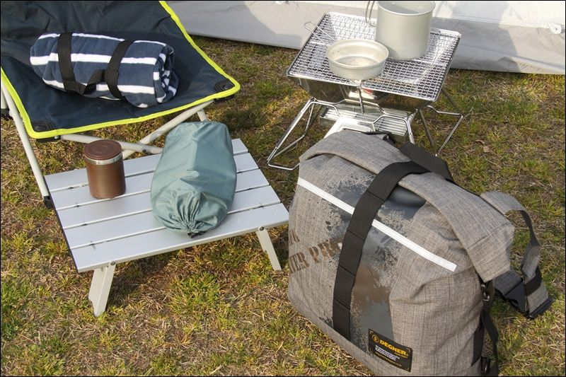 ウォータープルーフバッグ/WATER PROOF BAG(グレー) [NB-104-GY]