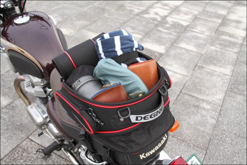 アジャスターシートバッグ/ADJUSTER SEAT BAG(ブラック/レッドパイピング) [NB-119-RDP]