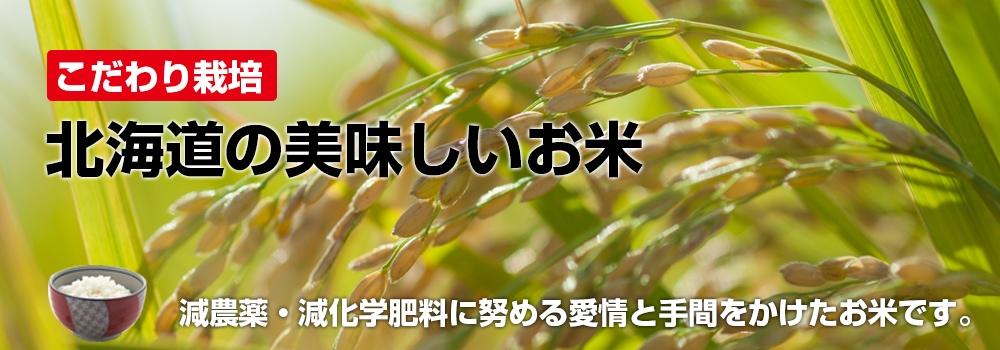 北海道のおいしいお米