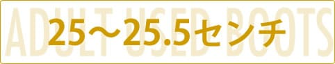 大人用中古ブーツ-25〜25.5センチ