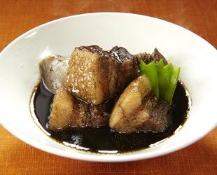 簡単黒ごま豚角煮