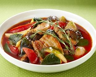 チキンと野菜の簡単トマトシチュー