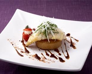 白身魚のポワレ バルサミコソース
