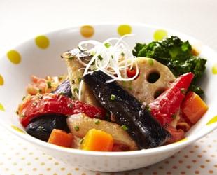 野菜のうま味!和風ラタトゥイユ
