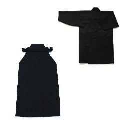最高級ポリエステル居合道衣・袴セット