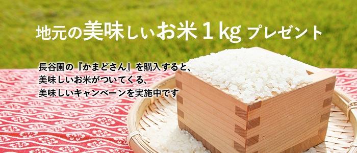 お米がついてくるキャンペーン