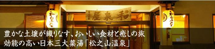 豊かな土壌が織りなす、おいしい食材と癒しの旅 効能の高い日本三大薬湯「松之山温泉」