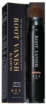 ROOT VANISH By KAZUMI 白髪隠しカラーリングブラシ ライトブラウン