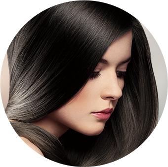 トリートメント効果で、白髪を染めながら髪質も向上