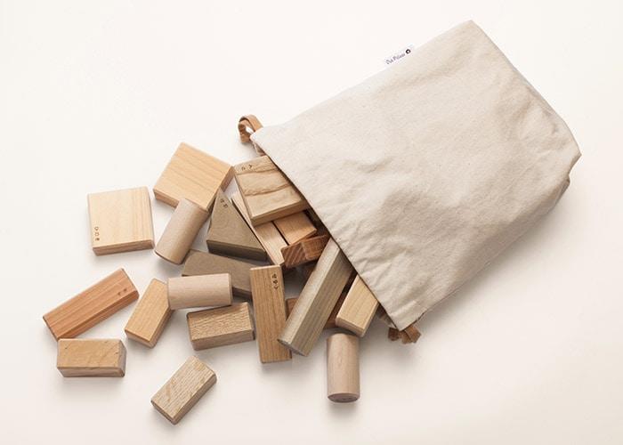 積木セット(布袋付き)