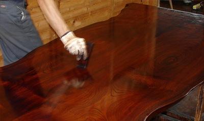 家具の塗り直し