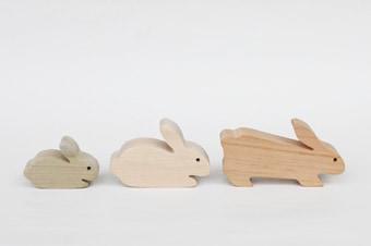 どうぶつ積み木 ウサギ