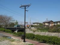 リチウム電池のソーラー街灯