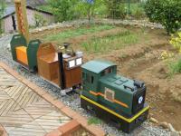 庭園鉄道の電源に
