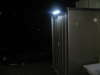 屋外用直流LED照明 防水タイプ