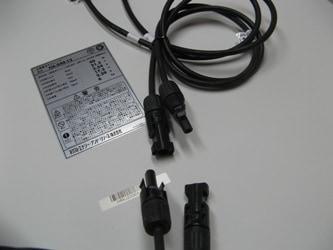 専用延長ケーブルとコネクタ接続