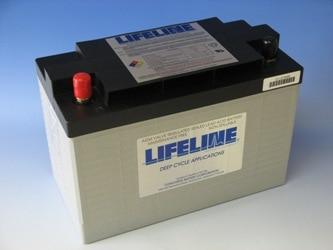 ディープサイクルバッテリー ライフラインGPL-31