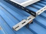 太陽光パネル取付け金具 例2