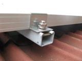 太陽光パネル取付け金具 例3