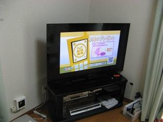 液晶テレビ使用例
