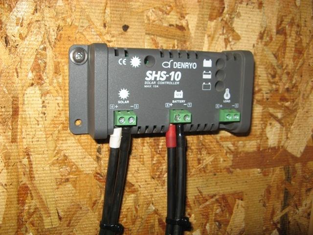 チャージコントローラー SHS-6
