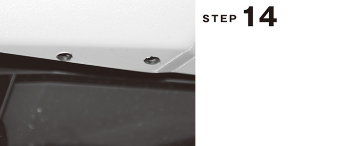 200系ハイエース フロントハーフスポイラー取付説明書 標準ボディ用