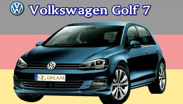 カジュアルフロアマット VOLKSWAGEN Golf7 ゴルフ7