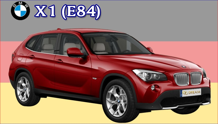 カジュアルフロアマット BMW X1 E84