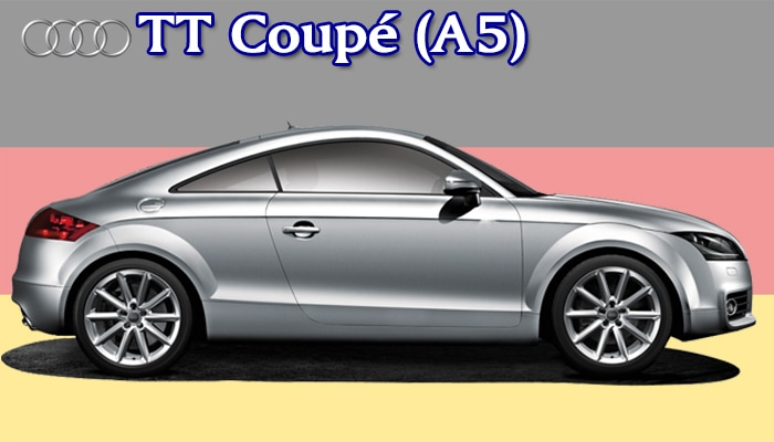 カジュアルフロアマット Audi TTクーペ A5