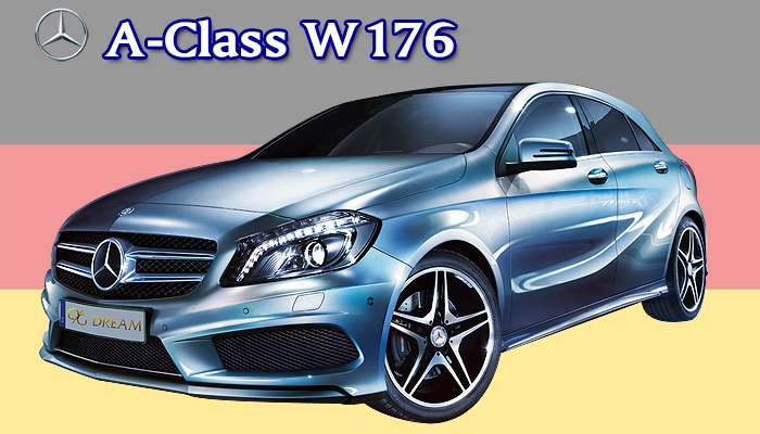 スタンダードフロアマット Mercedes-Benz Aクラス W176