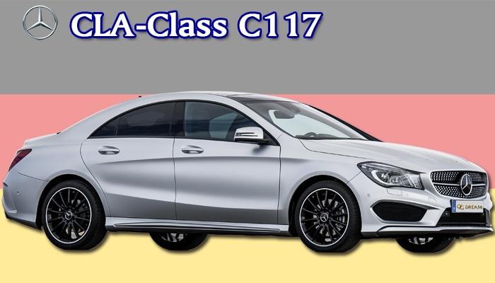 カジュアルフロアマット Mercedes-Benz CLAクラス C117