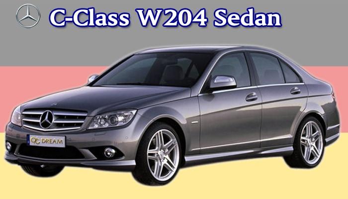 スタンダードフロアマット Mercedes-Benz Cクラス W204セダン